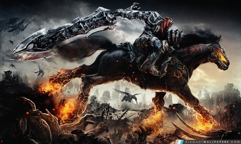Rides Guerre Darksiders Fond D Ecran Hd A Telecharger Elegant Wallpapers