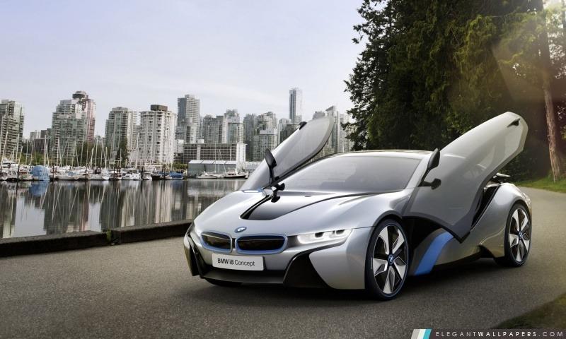 BMW i8 Portes Ouvertes, Arrière-plans HD à télécharger