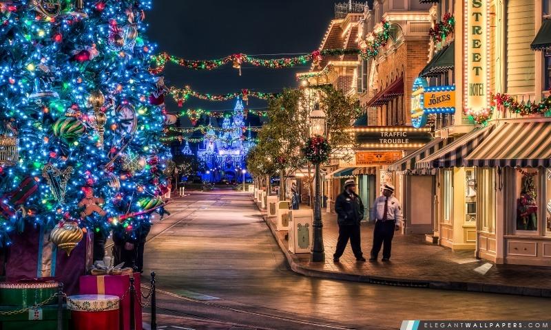 Disneyland Arbre De Noël Fond D écran Hd à Télécharger
