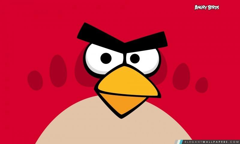 Angry Birds – Oiseau rouge, Arrière-plans HD à télécharger