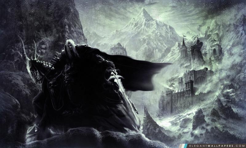 Warcraft 3 Arthas, Arrière-plans HD à télécharger
