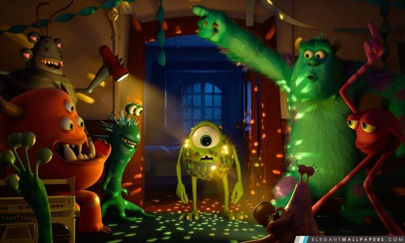 Party Monster Université, Arrière-plans HD à télécharger