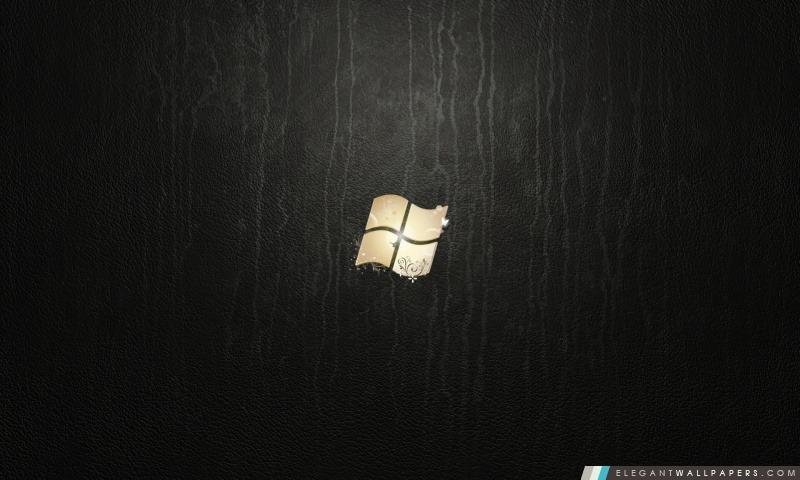 Windows 7 Ultimate cuir, Arrière-plans HD à télécharger