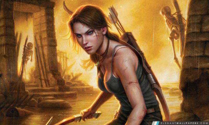Tomb Raider 2013 Concept Art, Arrière-plans HD à télécharger