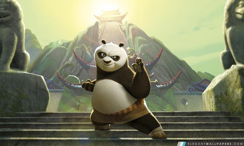 Kung Fu Panda, Arrière-plans HD à télécharger