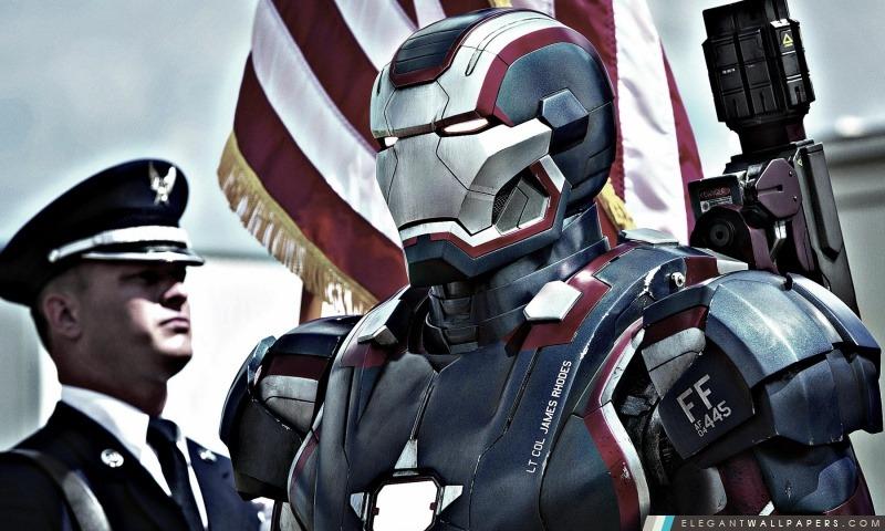 Fer patriot dans iron man 3 fond d 39 cran hd t l charger elegant wallpapers - Iron man telecharger ...