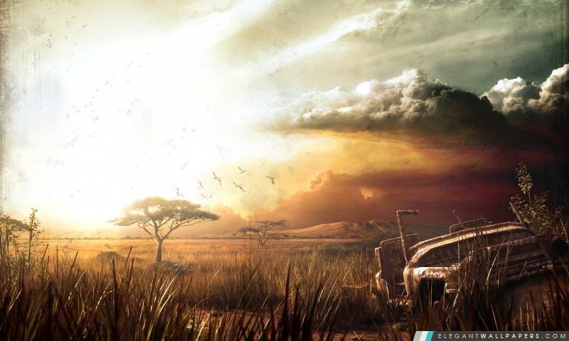 Far Cry 2 Paysage, Arrière-plans HD à télécharger