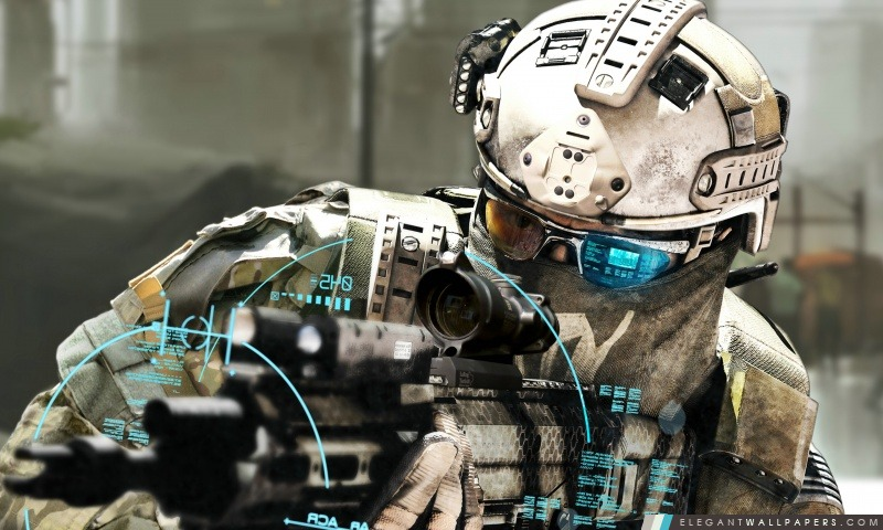 Ghost Recon Future Soldier Tom Clancy, Arrière-plans HD à télécharger