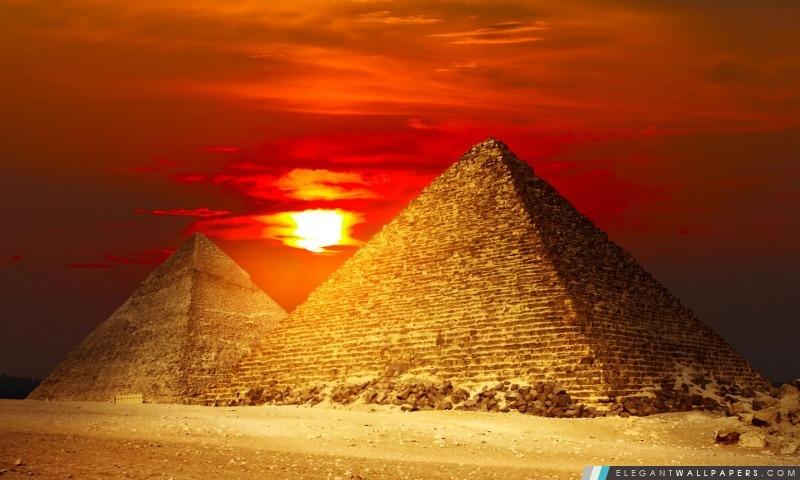 Pyramides Egypte, Arrière-plans HD à télécharger