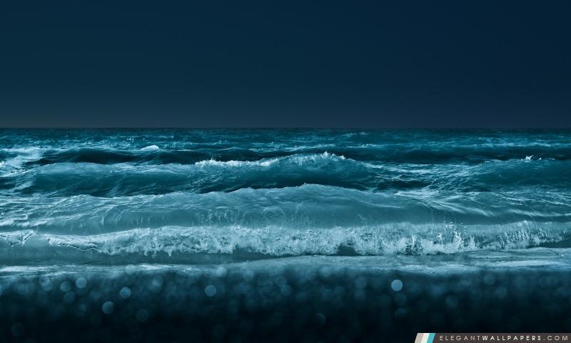 Sea At Night, Arrière-plans HD à télécharger