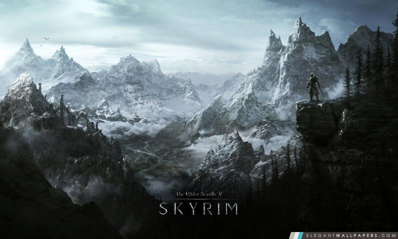 The Elder Scrolls V Skyrim (Jeu vidéo), Arrière-plans HD à télécharger
