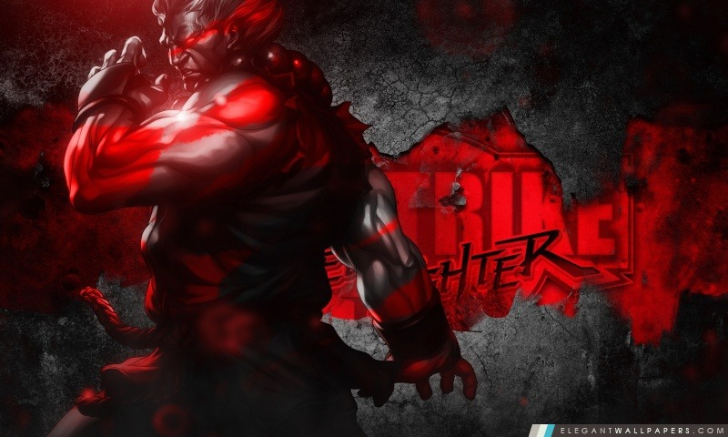 Street Fighter III – Akuma, Arrière-plans HD à télécharger