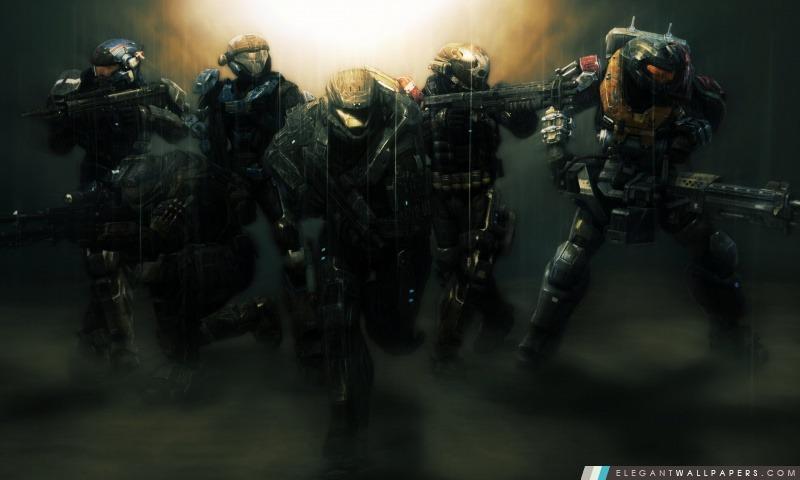 Halo Reach Noble équipe, Arrière-plans HD à télécharger