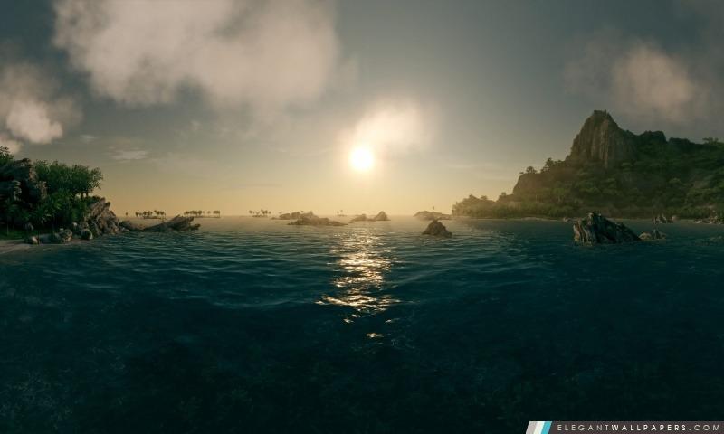 Deep Ocean Bleu, Arrière-plans HD à télécharger
