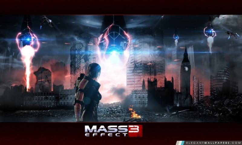 Mass Effect 3, Arrière-plans HD à télécharger