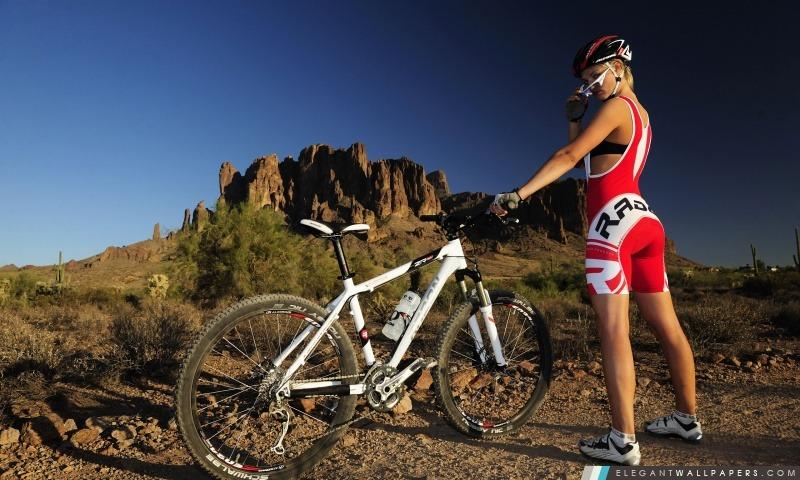 Cycliste chaud, Arrière-plans HD à télécharger