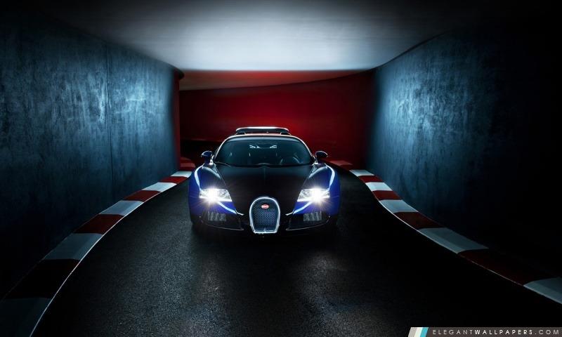 Bleu Bugatti Veyron, Arrière-plans HD à télécharger