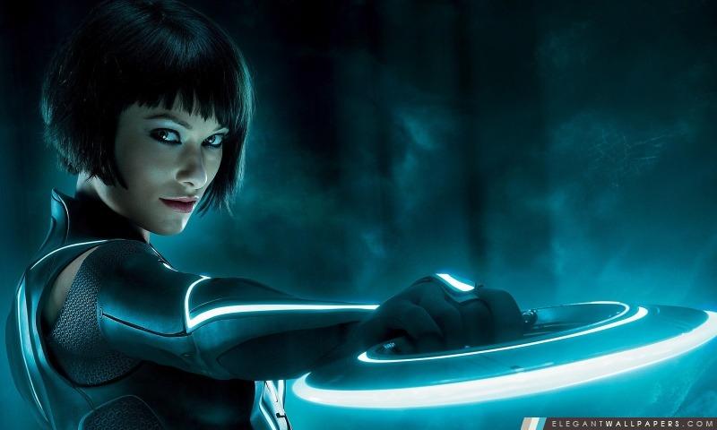 Olivia Wilde Dans Tron, Arrière-plans HD à télécharger
