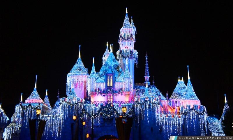Chateau Disney Fond D Ecran Hd A Telecharger Elegant