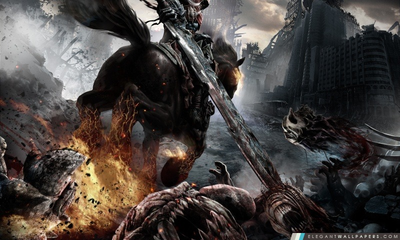 Darksiders Rider, Arrière-plans HD à télécharger