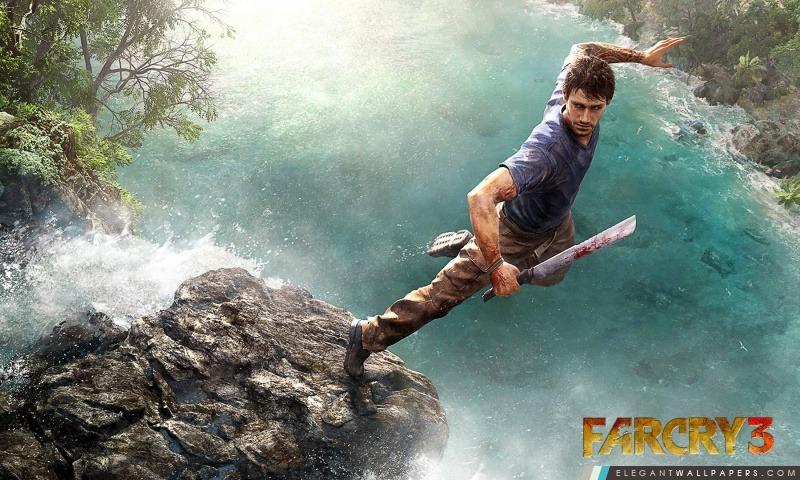 Far Cry 3 Sauter, Arrière-plans HD à télécharger
