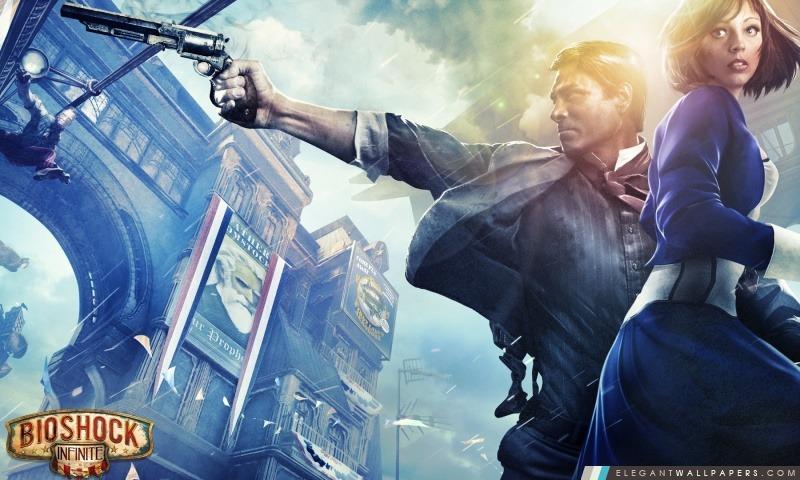 BioShock Infinite 2013 JEU, Arrière-plans HD à télécharger