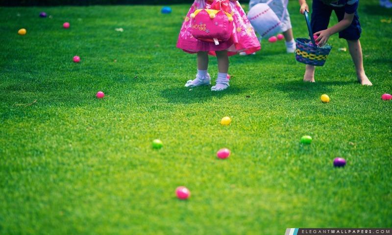 Easter Egg Hunt, Arrière-plans HD à télécharger