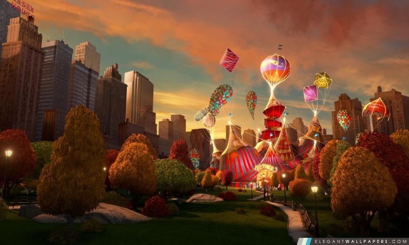 Most Wanted cirque de New York de Madagascar 3 en Europe, Arrière-plans HD à télécharger