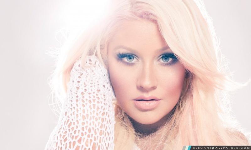 Christina Aguilera Elegant Wallpapers