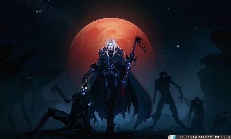 WOW Chevalier de la mort Sang des Elfes, Arrière-plans HD à télécharger