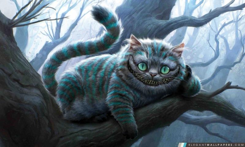 Cheshire Cat Illustration Alice Au Pays Des Merveilles