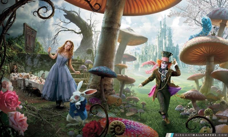 Alice In Wonderland Film, Arrière-plans HD à télécharger