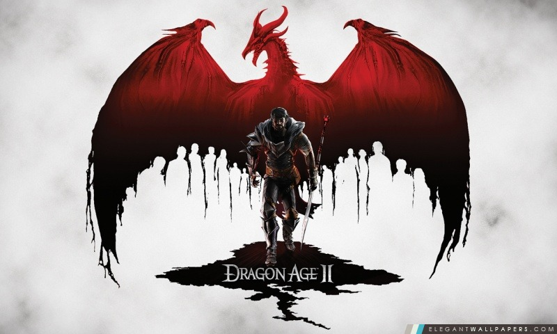 Dragon Age II, Arrière-plans HD à télécharger