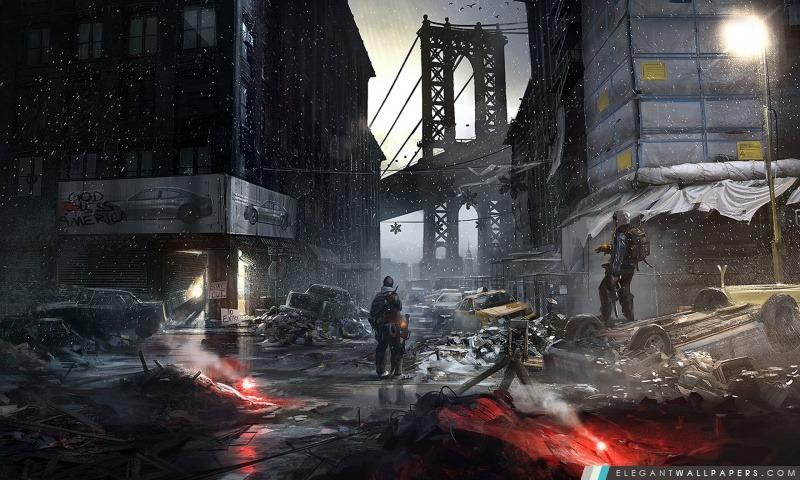 La Division Concept Art, Arrière-plans HD à télécharger