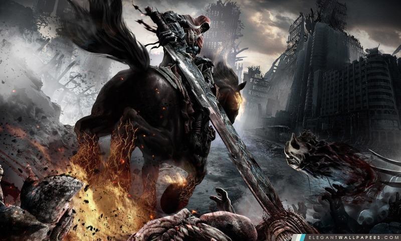 Darksiders Cavaliers, Arrière-plans HD à télécharger