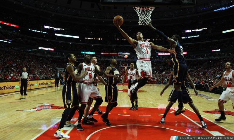 NBA de basket-ball des Chicago Bulls, Arrière-plans HD à télécharger