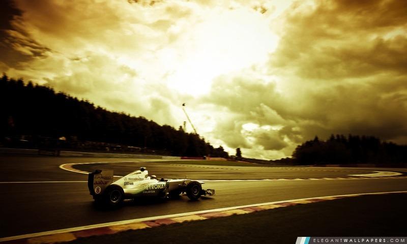 Mercedes GP-Formule 1, Arrière-plans HD à télécharger