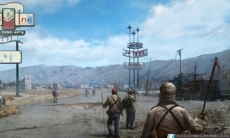 Fallout elegant wallpapers - Fallout new vegas skyline ...