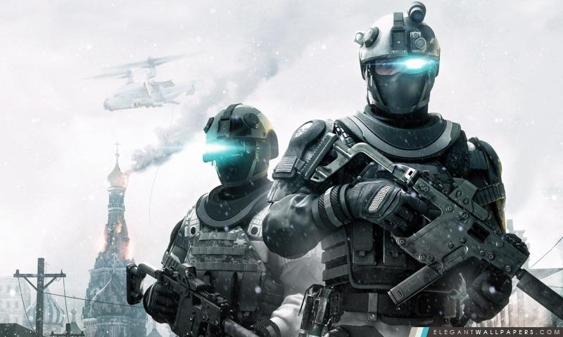 Ghost Recon Tom Clancy motifs, Arrière-plans HD à télécharger