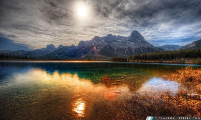 Cristal Clear Lake. Fond d'écran HD à télécharger | Elegant Wallpapers