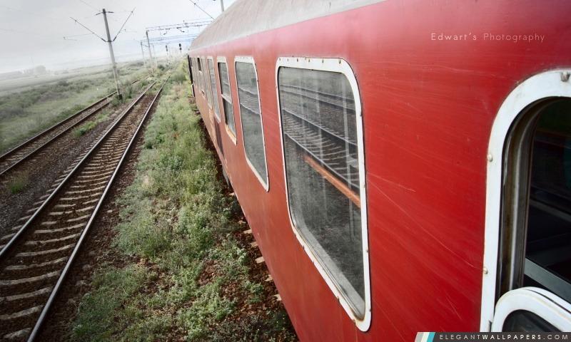 Old Train roumain, Arrière-plans HD à télécharger
