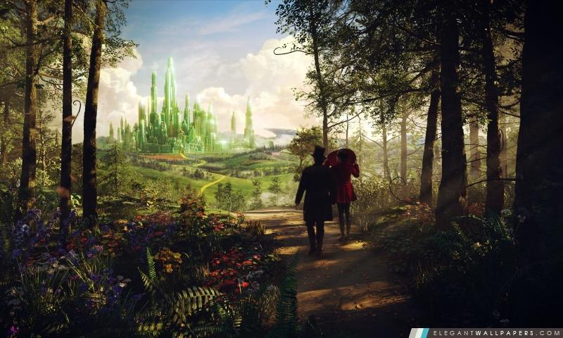 Oz Le grand et puissant Emerald City, Arrière-plans HD à télécharger