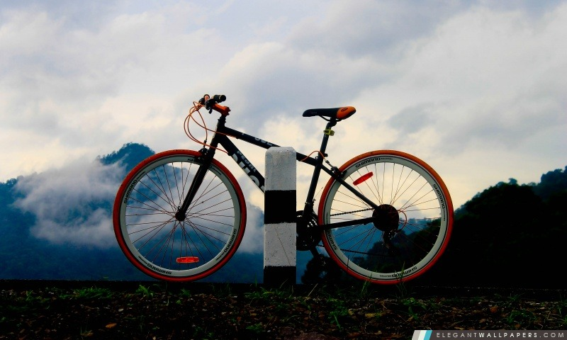 Vélo de montagne, Arrière-plans HD à télécharger