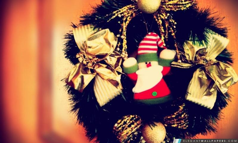 Noël porte, Arrière-plans HD à télécharger