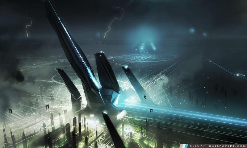 Tron monde virtuel, Arrière-plans HD à télécharger