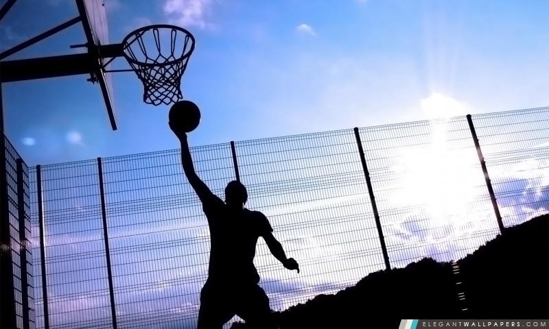 Joueur de basket, Arrière-plans HD à télécharger