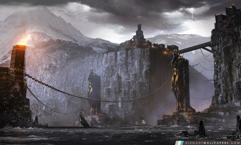 Dragon Age 2 Concept Art, Arrière-plans HD à télécharger