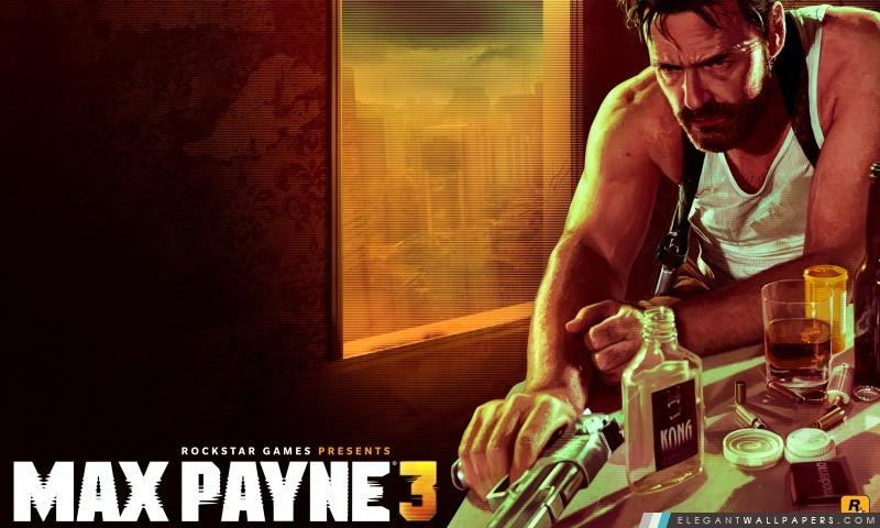 Max Payne 3, Arrière-plans HD à télécharger