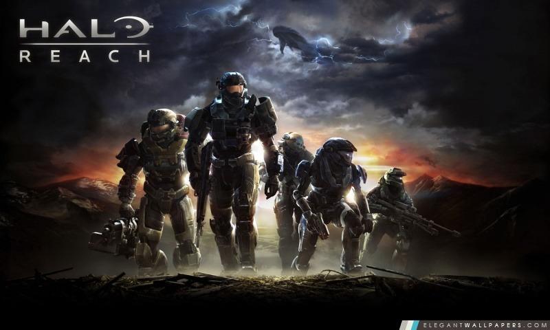 Halo Reach, Arrière-plans HD à télécharger