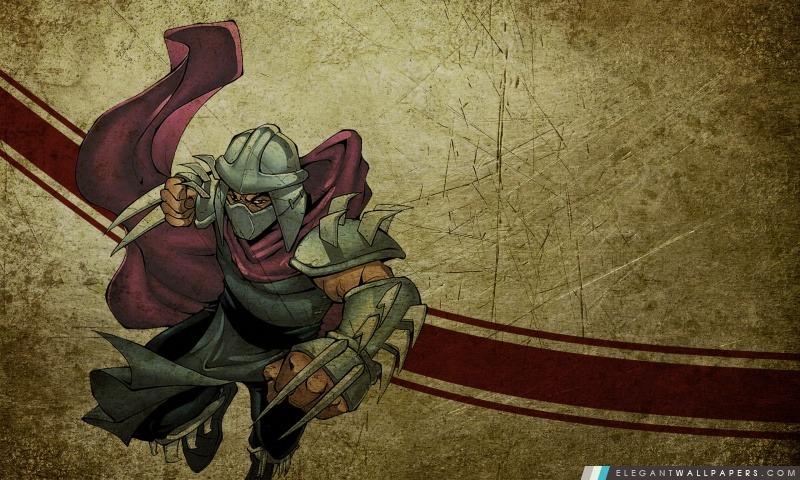 Ninja Turtles Shredder, Arrière-plans HD à télécharger